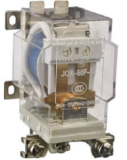 High Power Electromagnetic Relay HHC71G (JQX-60F)